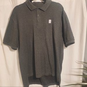 Men's Nike Dri-Fit Polo Golf Shirt Large Gray